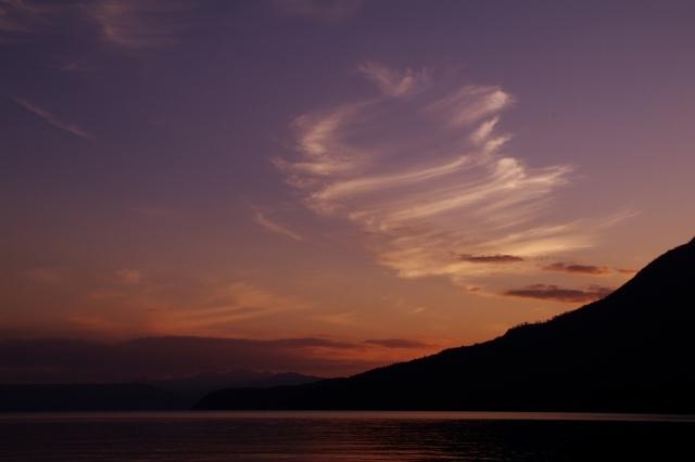 2010年10月14日支笏湖の夕景5.jpg