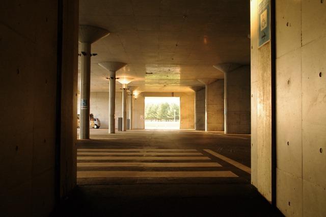 2010年8月17日モエレ沼公園の夕景1.jpg