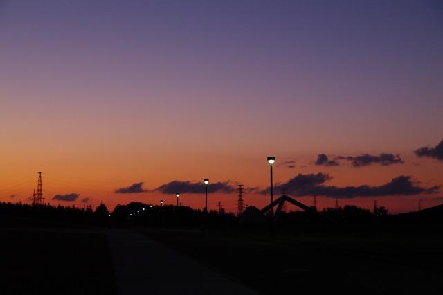 2010年8月17日モエレ沼公園の夕景11.jpg