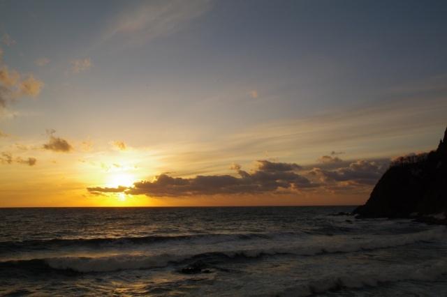 2011年3月28日日本海の夕景4.jpg